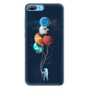 Silikonové pouzdro iSaprio (mléčně zakalené) Balónky 02 na mobil Honor 9 Lite