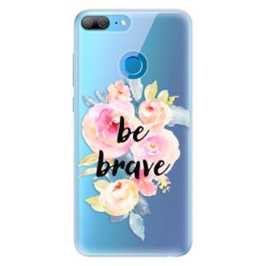 Silikonové pouzdro iSaprio (mléčně zakalené) Be Brave na mobil Honor 9 Lite