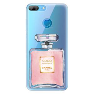 Silikonové pouzdro iSaprio (mléčně zakalené) Chanel Rose na mobil Honor 9 Lite