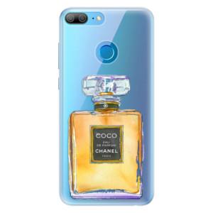Silikonové pouzdro iSaprio (mléčně zakalené) Chanel Gold na mobil Honor 9 Lite