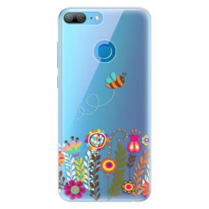 Silikonové pouzdro iSaprio (mléčně zakalené) Včelka Pája 01 na mobil Honor 9 Lite