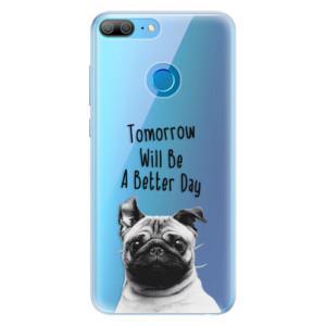 Silikonové pouzdro iSaprio (mléčně zakalené) Better Day 01 na mobil Honor 9 Lite