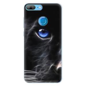 Silikonové pouzdro iSaprio (mléčně zakalené) Black Puma na mobil Honor 9 Lite