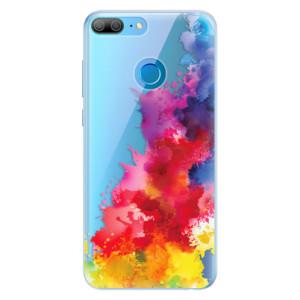 Silikonové pouzdro iSaprio (mléčně zakalené) Color Splash 01 na mobil Honor 9 Lite