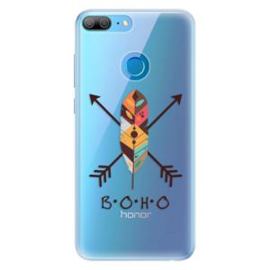 Silikonové pouzdro iSaprio (mléčně zakalené) BOHO na mobil Honor 9 Lite
