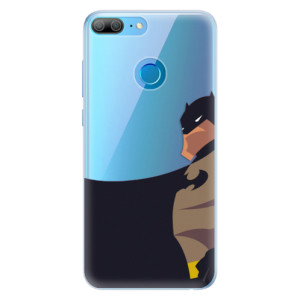 Silikonové pouzdro iSaprio (mléčně zakalené) BaT Komiks na mobil Honor 9 Lite