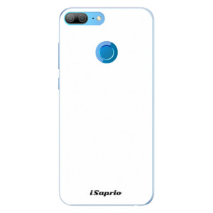 Silikonové pouzdro iSaprio 4Pure bílé na mobil Honor 9 Lite