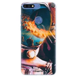 Silikonové pouzdro iSaprio (mléčně zakalené) Astronaut 01 na mobil Honor 7C