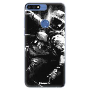 Silikonové pouzdro iSaprio (mléčně zakalené) Astronaut 02 na mobil Honor 7C