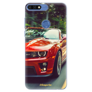 Silikonové pouzdro iSaprio (mléčně zakalené) Chevrolet 02 na mobil Honor 7C