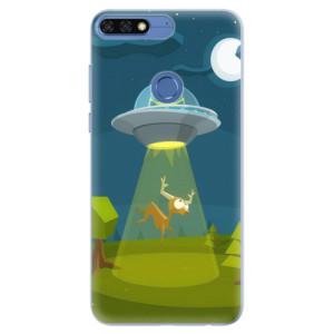 Silikonové pouzdro iSaprio (mléčně zakalené) Ufouni 01 na mobil Honor 7C
