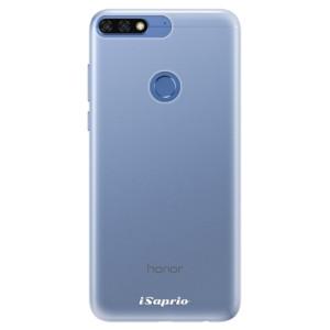 Silikonové pouzdro iSaprio 4Pure mléčné bez potisku na mobil Honor 7C