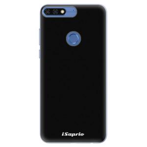 Silikonové pouzdro iSaprio 4Pure černé na mobil Honor 7C