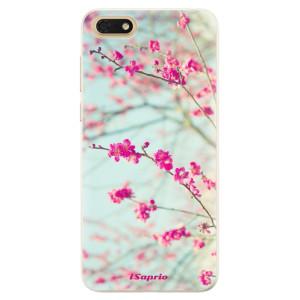 Silikonové pouzdro iSaprio (mléčně zakalené) Blossom 01 na mobil Honor 7S