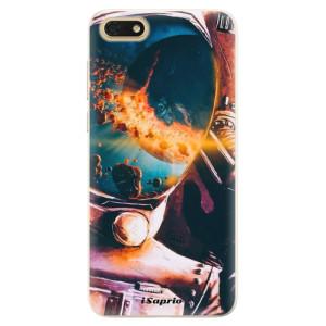 Silikonové pouzdro iSaprio (mléčně zakalené) Astronaut 01 na mobil Honor 7S
