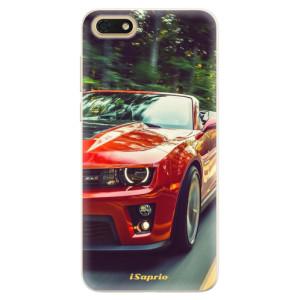 Silikonové pouzdro iSaprio (mléčně zakalené) Chevrolet 02 na mobil Honor 7S