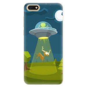 Silikonové pouzdro iSaprio (mléčně zakalené) Ufouni 01 na mobil Honor 7S
