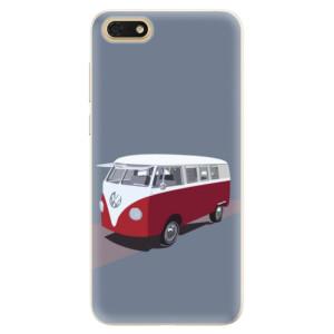 Silikonové pouzdro iSaprio (mléčně zakalené) VW Bus na mobil Honor 7S
