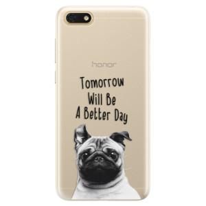 Silikonové pouzdro iSaprio (mléčně zakalené) Better Day 01 na mobil Honor 7S