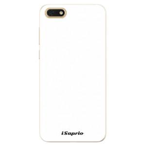 Silikonové pouzdro iSaprio 4Pure bílé na mobil Honor 7S