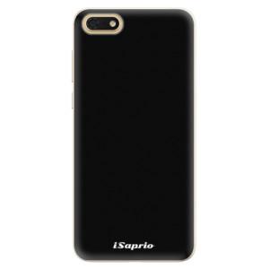 Silikonové pouzdro iSaprio 4Pure černé na mobil Honor 7S
