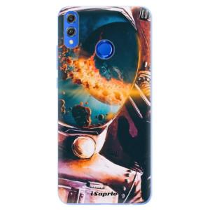 Silikonové pouzdro iSaprio (mléčně zakalené) Astronaut 01 na mobil Honor 8X