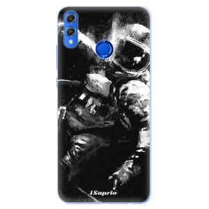 Silikonové pouzdro iSaprio (mléčně zakalené) Astronaut 02 na mobil Honor 8X
