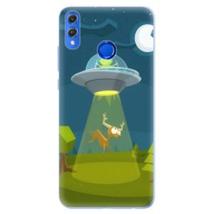 Silikonové pouzdro iSaprio (mléčně zakalené) Ufouni 01 na mobil Honor 8X