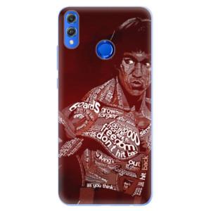 Silikonové pouzdro iSaprio (mléčně zakalené) Bruce Lee na mobil Honor 8X