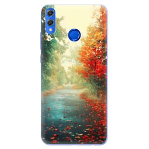 Silikonové pouzdro iSaprio (mléčně zakalené) Podzim 03 na mobil Honor 8X