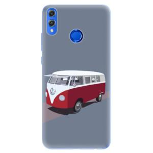 Silikonové pouzdro iSaprio (mléčně zakalené) VW Bus na mobil Honor 8X