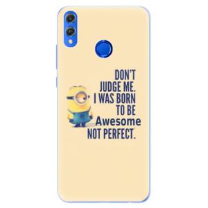 Silikonové pouzdro iSaprio (mléčně zakalené) Be Awesome na mobil Honor 8X