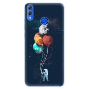 Silikonové pouzdro iSaprio (mléčně zakalené) Balónky 02 na mobil Honor 8X