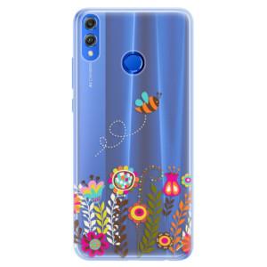 Silikonové pouzdro iSaprio (mléčně zakalené) Včelka Pája 01 na mobil Honor 8X