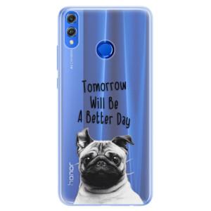 Silikonové pouzdro iSaprio (mléčně zakalené) Better Day 01 na mobil Honor 8X