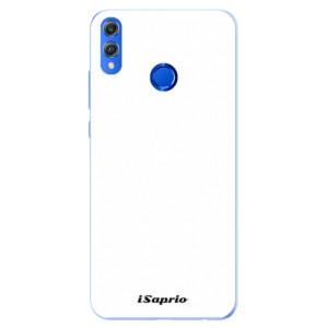 Silikonové pouzdro iSaprio 4Pure bílé na mobil Honor 8X