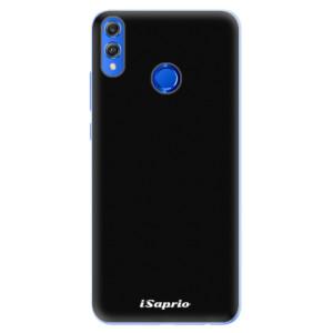 Silikonové pouzdro iSaprio 4Pure černé na mobil Honor 8X
