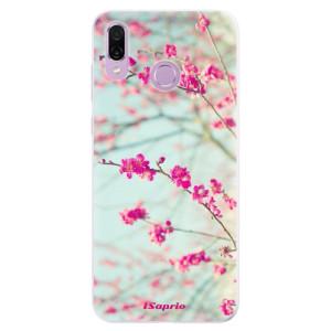 Silikonové pouzdro iSaprio (mléčně zakalené) Blossom 01 na mobil Honor Play