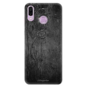 Silikonové pouzdro iSaprio (mléčně zakalené) Black Wood 13 na mobil Honor Play