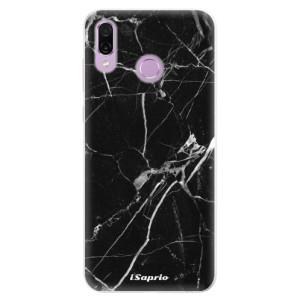 Silikonové pouzdro iSaprio (mléčně zakalené) Black Marble 18 na mobil Honor Play
