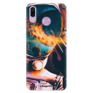 Silikonové pouzdro iSaprio (mléčně zakalené) Astronaut 01 na mobil Honor Play