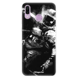 Silikonové pouzdro iSaprio (mléčně zakalené) Astronaut 02 na mobil Honor Play