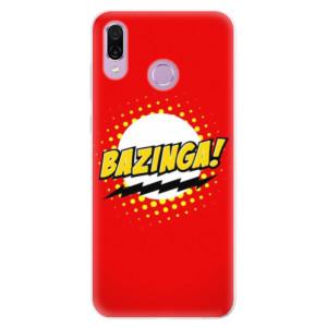 Silikonové pouzdro iSaprio (mléčně zakalené) Bazinga 01 na mobil Honor Play