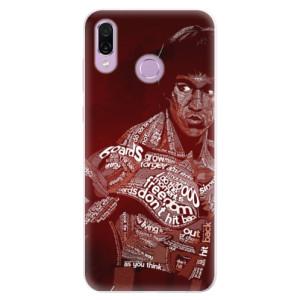 Silikonové pouzdro iSaprio (mléčně zakalené) Bruce Lee na mobil Honor Play