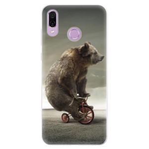 Silikonové pouzdro iSaprio (mléčně zakalené) Medvěd 01 na mobil Honor Play