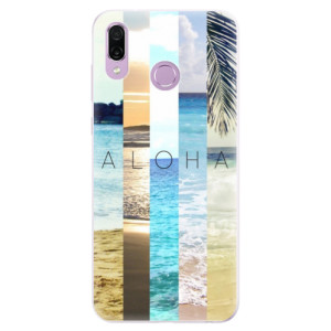 Silikonové pouzdro iSaprio (mléčně zakalené) Aloha 02 na mobil Honor Play