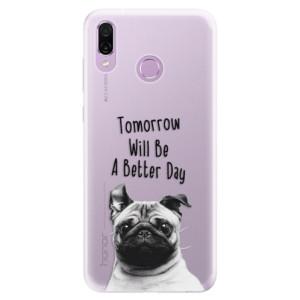 Silikonové pouzdro iSaprio (mléčně zakalené) Better Day 01 na mobil Honor Play