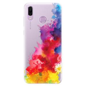 Silikonové pouzdro iSaprio (mléčně zakalené) Color Splash 01 na mobil Honor Play