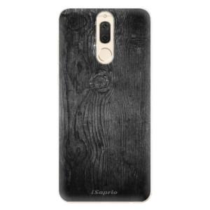 Silikonové pouzdro iSaprio (mléčně zakalené) Black Wood 13 na mobil Huawei Mate 10 Lite