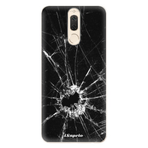 Silikonové pouzdro iSaprio (mléčně zakalené) Broken Glass 10 na mobil Huawei Mate 10 Lite